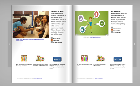 sample pages from our course catalog, which can be found here