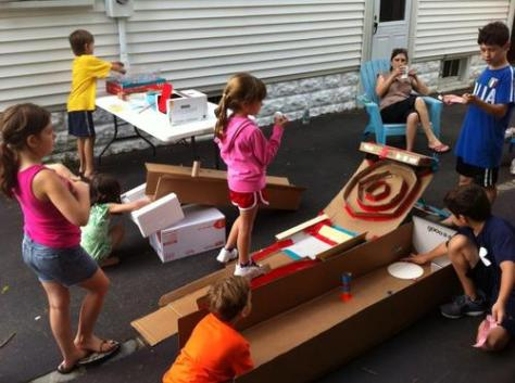 photo from Global Cardboard Challenge 2012