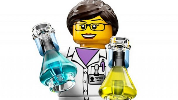 Lego Female Scientist Set