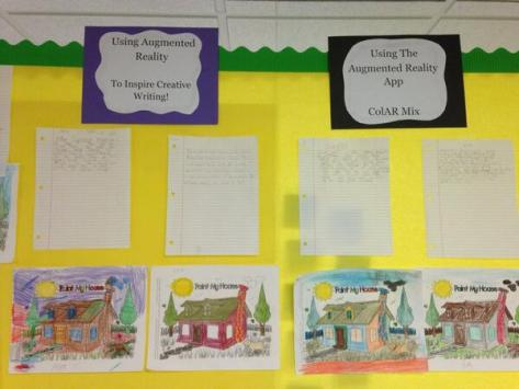 Brad Waid's Augmented Reality Inspired Creative Writing Bulletin Board