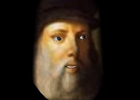Screen Shot from Grant G.'s Leonardo da Vinci Morfo presentation