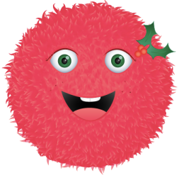 "Holly Fuzz - coming just in time for the ""Holly""days!"