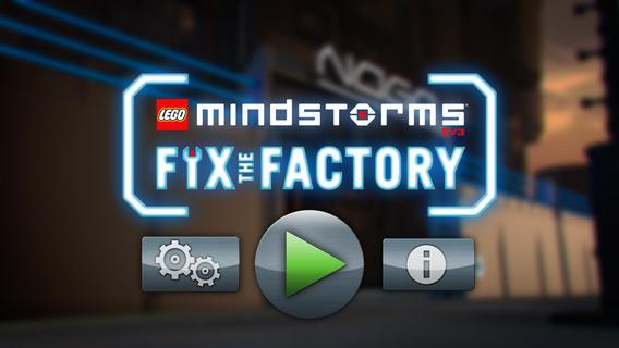 Lego Mindstorms Fix the Factory App