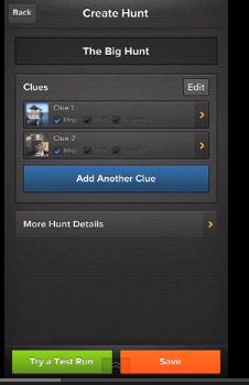 screen shot from Klikaklu app video