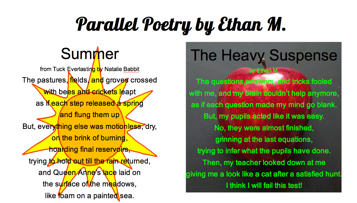 Parallel Poetry | Engage Their Minds