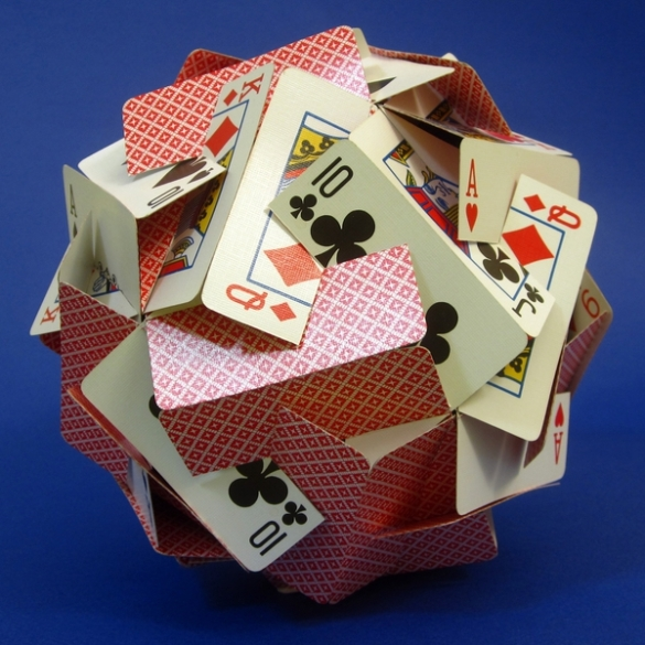 Ball of Cards (template provided)