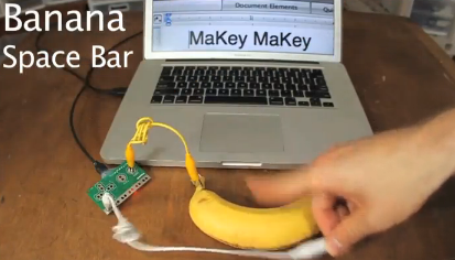 screen shot from Makey Makey video