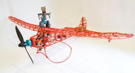 Remote Control 3Doodler Plane image from: Makezine.com