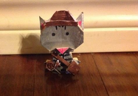 Origami Kittyana Jones