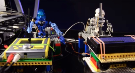 See the first ever Lego band play a Depeche Mode song here!