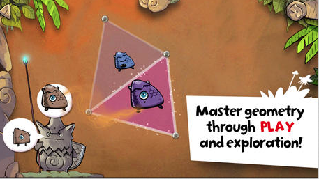 DragonBox Elements - a Geometry app for ages 9-11 available here