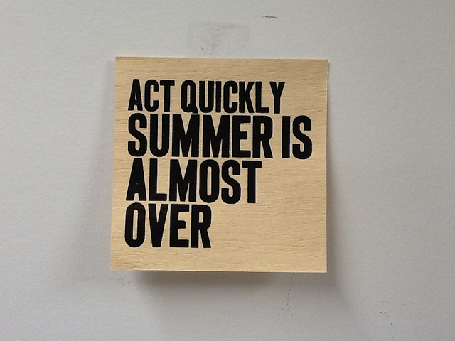 What Happened During Summer Vacation