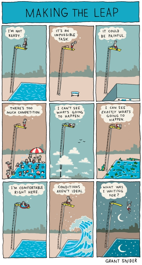 image by: Grant Snider of Incidental Comics