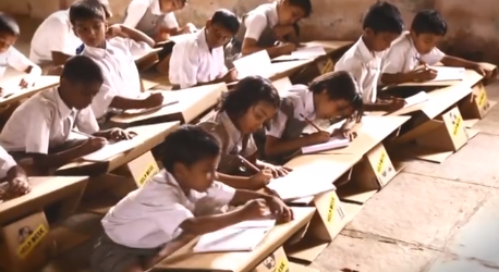 Help Desks for Indian children, created by