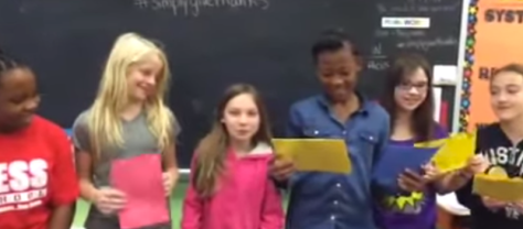 Mrs. Green's 5th Grade Class Gives Thanks