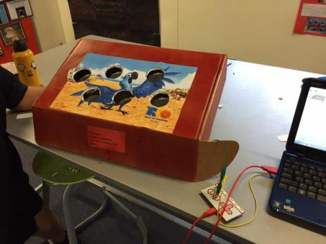 In this tweet from @simontrembath, his 4th graders made an Operation game using MaKey MaKey (thank for the RT @JoyKirr!)