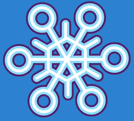 Learn how to make a snowflake with the Hopscotch app and video tutorial.