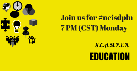 Join us for #neisdpln