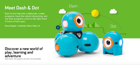 Meet Dash and Dot from Wonder Workshop