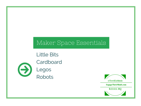 Maker Space Essentials Legos