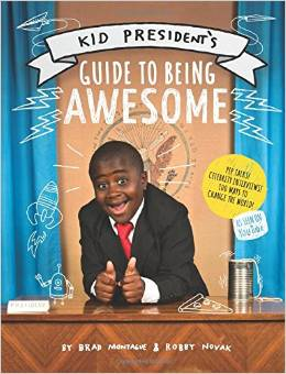 You can buy Kid President's book here.