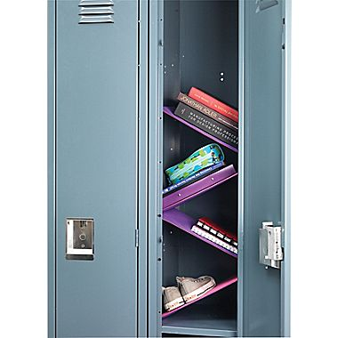 Floating Locker Shelves designed by students at the Ron Clark Academy and available at Staples