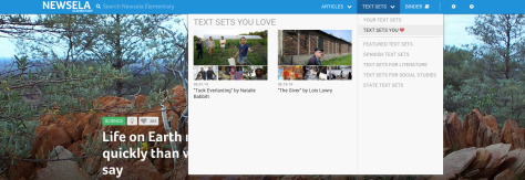 Newsela Text Sets