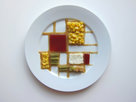 Thanksgiving Special Mondrian by Hannah Rothstein