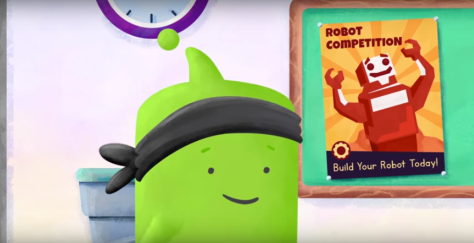 "screen shot from Class Dojo's ""Magic of Mistakes"" video"