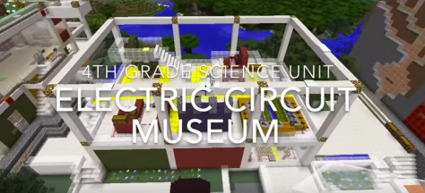 screen shot from the 4th Grade Electric Circuit Museum video shared by David Lee EdTech