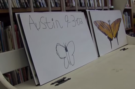 Screen Shot from Austin's Butterfly