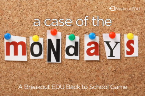 from Breakout Edu Back to School Games