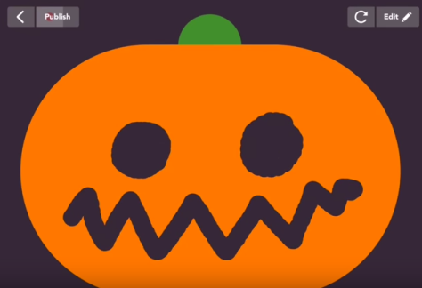 Carve a Pumpkin with the Hopscotch app