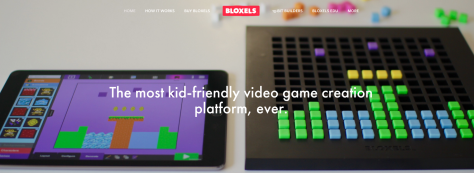 image from Bloxels home page
