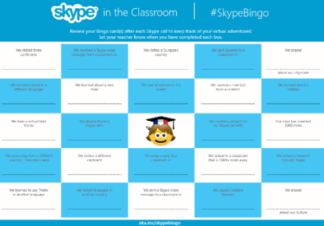 Skype Bingo